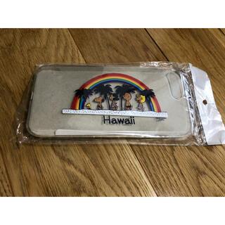 ピーナッツ(PEANUTS)のiPhone7plus日焼けスヌーピー アイフォンケース 新品(iPhoneケース)