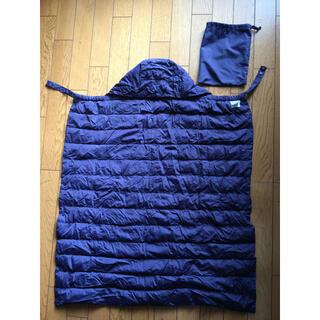 アカチャンホンポ(アカチャンホンポ)のアカチャンホンポ 抱っこ紐 ベビーカー 防寒ケープ 薄手ダウン 収納袋付き(外出用品)