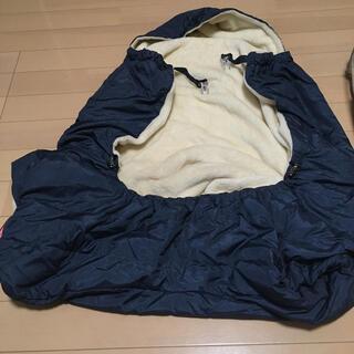 アカチャンホンポ(アカチャンホンポ)のダウンケープ紺色(抱っこひも/おんぶひも)