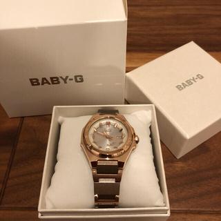 ベビージー(Baby-G)のみょん様専用【新品/未使用】MSG-W300CG-5AJF BABY-G(腕時計)