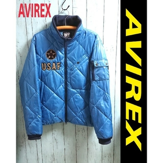 AVIREX - AVIREX アビレックス 中綿入り ビッグサイズ ナイロンジャケット アウター