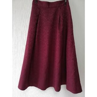 フィント(F i.n.t)のダマスク柄スカート(ひざ丈スカート)