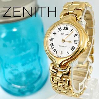 ゼニス(ZENITH)の79 ゼニス時計 レディース腕時計 ゴールド 希商品 デイト入り 高級時計(腕時計)