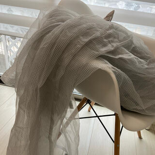 イケア(IKEA)の値下げ IKEA レースカーテン グレー 2枚セット(レースカーテン)