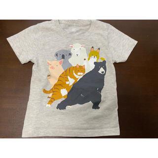 Design Tshirts Store graniph - グラニフ チューチューアニマル シャツ 110 グレー 中古