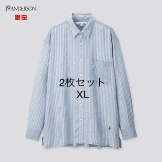 ジェイダブリューアンダーソン(J.W.ANDERSON)の【美品】UNIQLO jw anderson シャツ 2枚セット(シャツ)