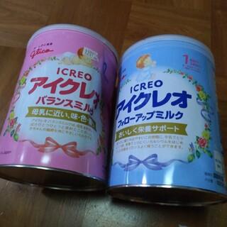 グリコ(グリコ)の新品□アイクレオ 粉ミルク 大缶 バランスミルク フォローアップ(その他)