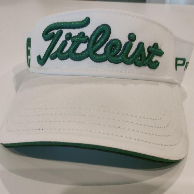 Titleist(タイトリスト)のタイトリスト Titleist  FJ サンバイザー メンズの帽子(サンバイザー)の商品写真