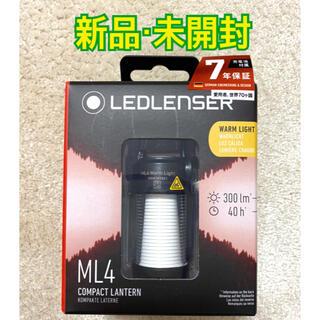 レッドレンザー(LEDLENSER)のレッドレンザー ML4 Ledlenser 充電式 300ルーメン 暖色 防水(ライト/ランタン)