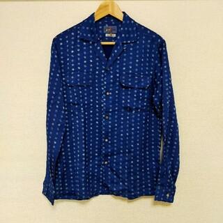 オクラ(OKURA)の新品未使用品!☻BLUE BLUE OKURAインディゴ シャツ(シャツ)
