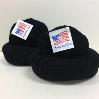 ロスコ(ROTHCO)のロスコ ニット帽 ブラック 2個 SET 2020年 NEW(ニット帽/ビーニー)