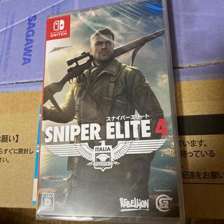 ニンテンドースイッチ(Nintendo Switch)のSniper Elite 4 Switch スナイパーエリート未開封(家庭用ゲームソフト)