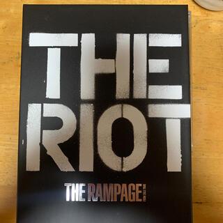 ザランページ(THE RAMPAGE)のTHE RAMPAGE 【THE RIOT】(CD+2DVD)(ポップス/ロック(邦楽))