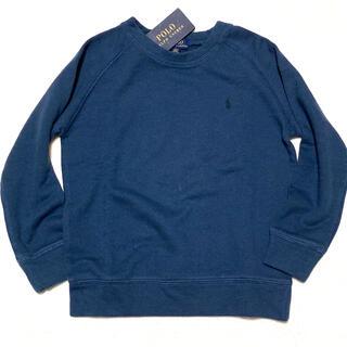 ポロラルフローレン(POLO RALPH LAUREN)の6/120 新品 SPA TERRY スウェットシャツ / ネイビーブルー(ジャケット/上着)