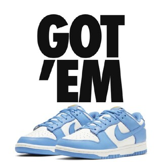 NIKE WMNS DUNK LOW  COAST UNC25cm(スニーカー)