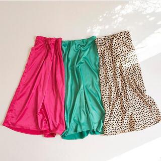 シールームリン(SeaRoomlynn)のsearoomlynn ヘムラインサテンスカート(ロングスカート)