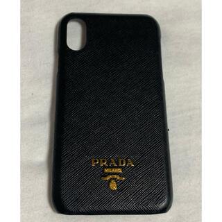 プラダ(PRADA)のiPhone XR用  PRADAカバー(iPhoneケース)