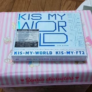キスマイフットツー(Kis-My-Ft2)のKis-My-Ft2 ALBUM キスワ初回盤&ミューコロ、DVDキスワ初回盤(アイドルグッズ)