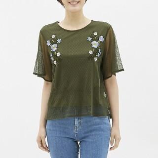 ジーユー(GU)のジーユー GU Tシャツ カットソー(カットソー(半袖/袖なし))