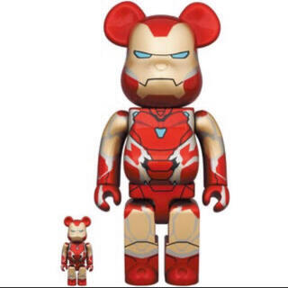 メディコムトイ(MEDICOM TOY)のBE@RBRICK IRON MAN MARK 85 100% 400%(その他)