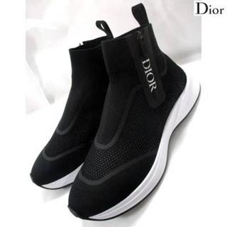 クリスチャンディオール(Christian Dior)のディオールオム DIOR HOMME サイドジップハイカットスニーカー(スニーカー)