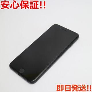 アイフォーン(iPhone)の美品 SOFTBANK iPhone7 PLUS 128GB ブラック (スマートフォン本体)