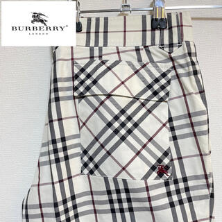 バーバリー(BURBERRY)の【Burberry】ブラックレーベル パンツ 廃盤モデル(チノパン)