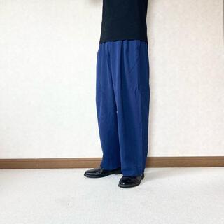 イッセイミヤケ(ISSEY MIYAKE)の【ISSEY MIYAKE】rayon wide slacks(スラックス)