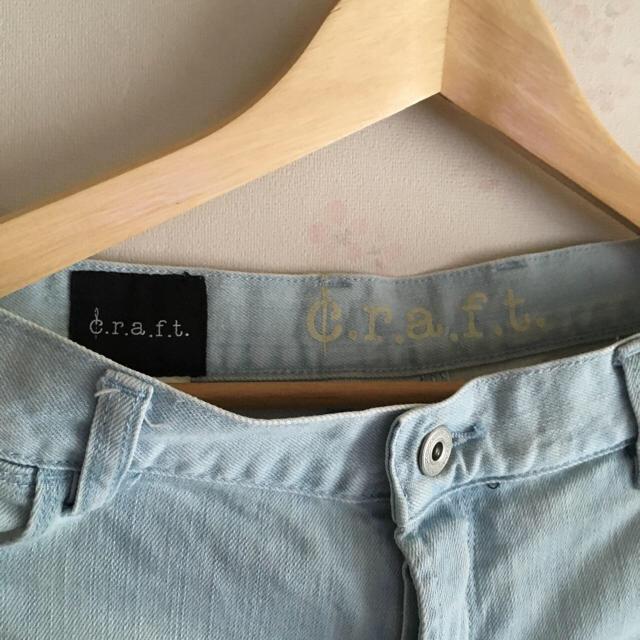 DENIM CRAFT(デニムクラフト)のcraftパンツ レディースのパンツ(デニム/ジーンズ)の商品写真