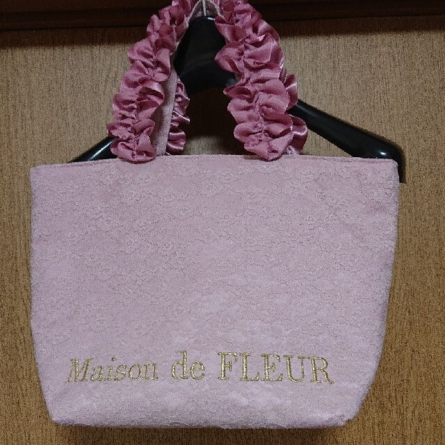 Maison de FLEUR(メゾンドフルール)のメゾンドフルールのトートバッグ レディースのバッグ(トートバッグ)の商品写真