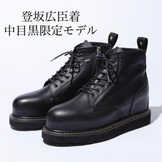 ミハラヤスヒロ(MIHARAYASUHIRO)の限定 登坂着 studioseven×ミハラヤスヒロ ブーツ27.0 BLACK(ブーツ)