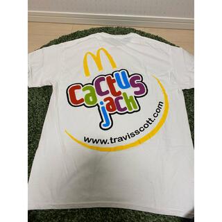 シュプリーム(Supreme)のアメリカ内限定Travis Scott x McDonald's  TEE(Tシャツ/カットソー(半袖/袖なし))