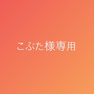 こぶた様専用✩(その他)