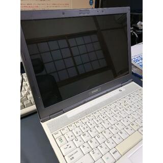 エプソン(EPSON)のEPSON ノートPC Endeavor NA801 ジャンク(ノートPC)