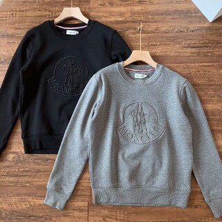 MONCLER - Monモンクレール ニット 刺繍 長袖tシャツ