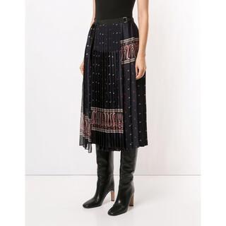 サカイ(sacai)のkyon様専用★2020AWサカイsacai ペイズリープリントスカート新品(ロングスカート)
