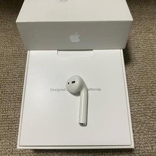 アップル(Apple)のジャンク エアーポッズ AirPods 第一世代 R 右耳のみ(ヘッドフォン/イヤフォン)