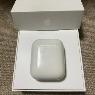 アップル(Apple)のエアーポッズ AirPods 第一世代 充電ケースのみ(ヘッドフォン/イヤフォン)