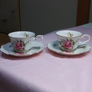 ノリタケ(Noritake)のティーカップとソーサー2客ノリタケスタジオコレクション(食器)