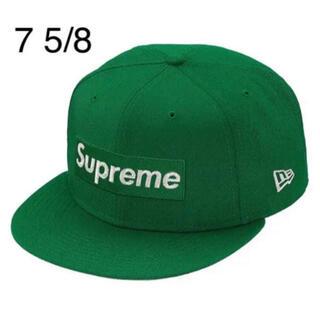 シュプリーム(Supreme)のSupreme Metallic Box Logo New Era 7 5/8(キャップ)