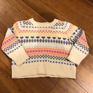 ギャップ(GAP)のニット セーター80cm綿100%ギャップベビー可愛いセーター定価3900(ニット/セーター)