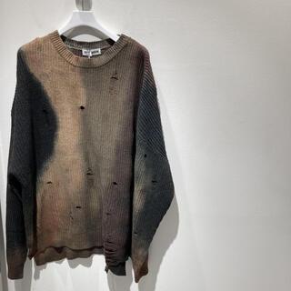 アレッジ(ALLEGE)のttt_msw 20AW emotional knit 藤井風着用(ニット/セーター)