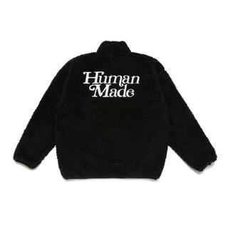 HUMAN MADE Girls Don't Cry FLEECE JKT(ノーカラージャケット)