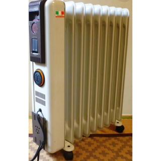 デロンギ(DeLonghi)のデロンギ オイルヒータ 310912TE 1200W 白 乾燥防いで毛布の暖かさ(オイルヒーター)