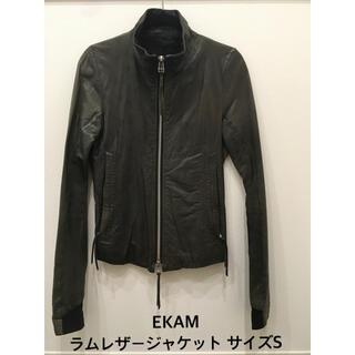 エカム(EKAM)のEKAM エカムadam et rope別注レザーライダースジャケット/ブルゾン(ライダースジャケット)