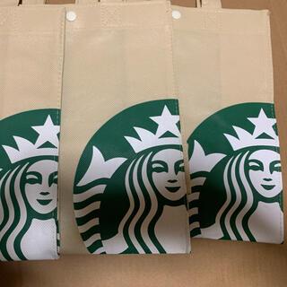 スターバックスコーヒー(Starbucks Coffee)のスターバックス エコバック不織布  6枚(エコバッグ)