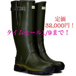 ハンター(HUNTER)のHUNTER ハンター メンズ バルモラル BALMORAL 極美品(長靴/レインシューズ)