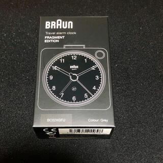 フラグメント(FRAGMENT)の新品未開封 Braun×Fragment BC02XGFU(置時計)