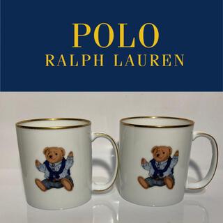 ポロラルフローレン(POLO RALPH LAUREN)のポロベア マグ ラルフローレン 未使用 カップ Ralph Polo bear (グラス/カップ)