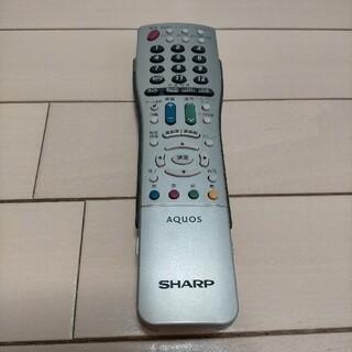 アクオス(AQUOS)のAQUOS テレビ リモコン(テレビ)